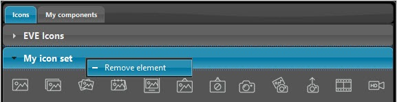Come rimuovere il set di icone precedentemente importato all'interno del software per la configurazione dei dispositivi domotici