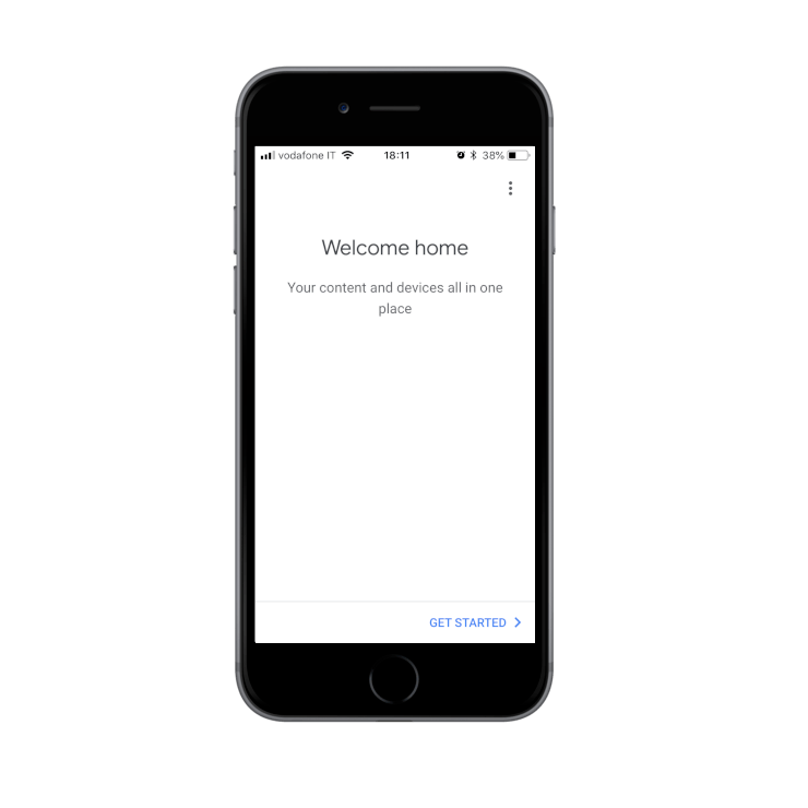 Creating the house inside the Google Home App