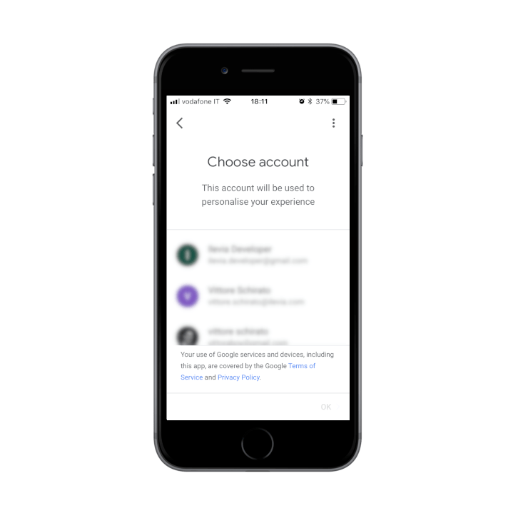 Linking the account Google to the Google Home App