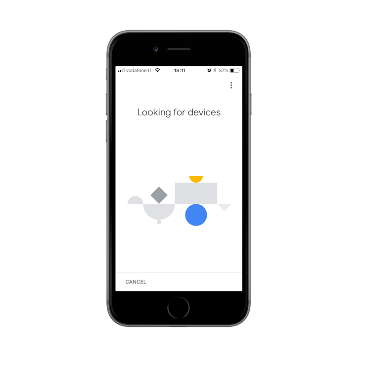 Linking the device Google Home to the Google Account