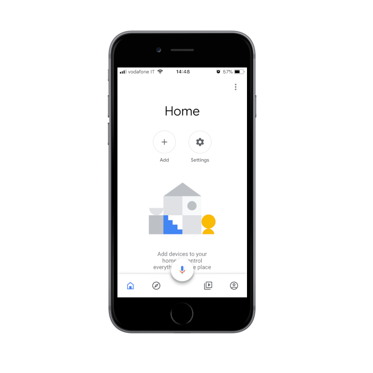 How to add new devices into the Google Home App