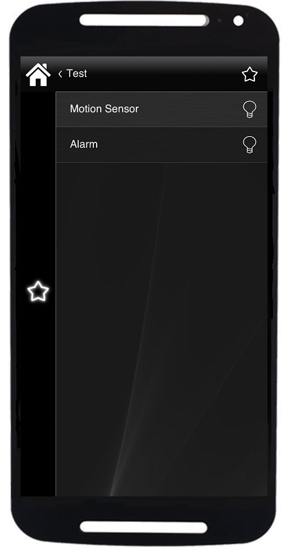 How do the Signal components working inside the Home automation app classic style