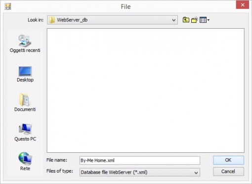 How to save the xml file to import into the Home automation configuration software EVE Manager
