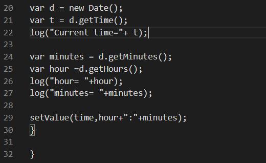 Come vengono rappresentate le variabili della funzione e come funzionano all'interno di essa